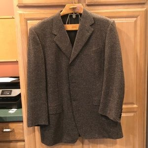 Canali 48L 3 Button Wool and Silk Sport Coat
